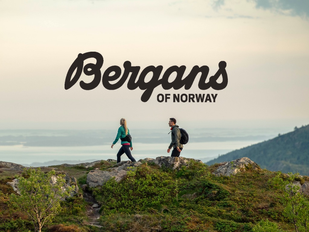 Bergans of Norway - Logo - Zwei Personen in der Natur