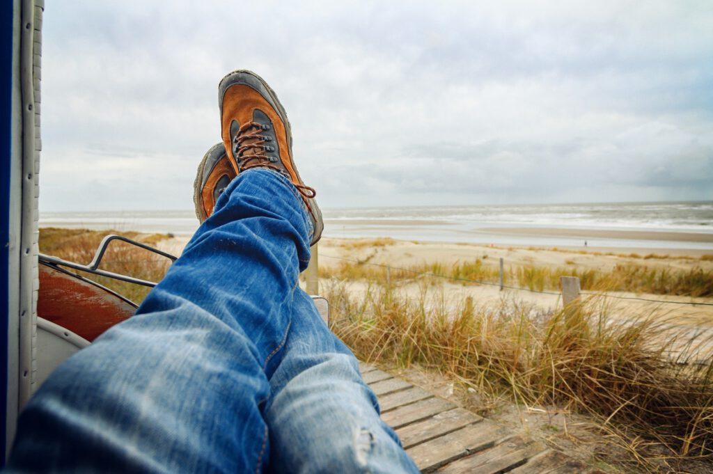 Care for Cancer Coaching Woche 4 - Stress reduzieren und einfach mal die Füße hoch nehmen