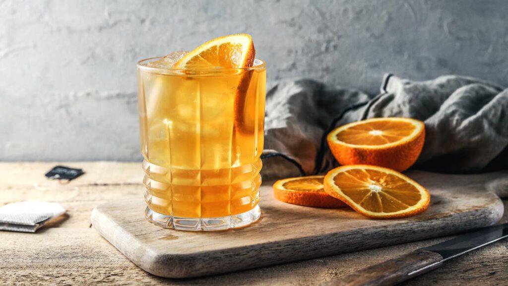 Earl-Grey-Zitrus-Eistee - Alkoholfreie Cocktail-Rezepte von KpnCook